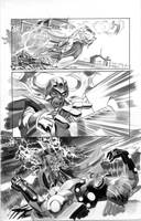 FEAR ITSELF HOMEFRONT4 Pg9 BW by mikemayhew