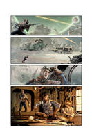 THE STAR WARS #1 Page 2 by mikemayhew