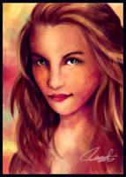 Quinn Fabray by JeZoNe
