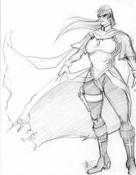 Indigo Concept Sketch by JocelynAda