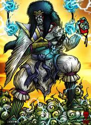 Susanoo no Mikoto - God of Storms by The-Last-Phantom