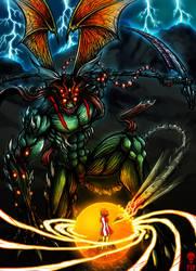 SHINIGAMI II Devilman by The-Last-Phantom