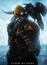 ODIN - Clash of Gods by The-Last-Phantom