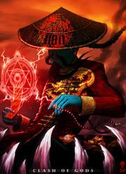 CHUNG KWEI - Clash of Gods by The-Last-Phantom