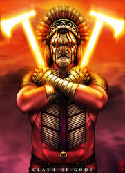 MANITOU - Clash of Gods by The-Last-Phantom