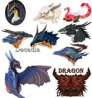 Dragon Doodols by Decadia