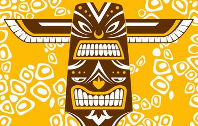 Trippy Totem II by avikdey