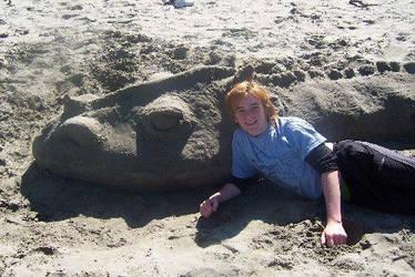 sand dragon by Reubenc