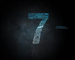 Sevenality - Typograpy 2 by fiyah-gfx