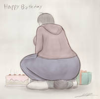 Birthday squash by yamumil