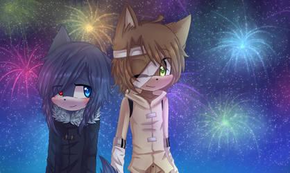 ~Gift: Ishigo and Mito~ by avozinha