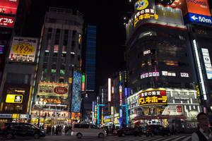 Shinjuku 2 by ameliamarina