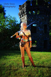 Ciri from the Witcher cosplay by Celem