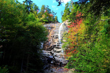 Stock: Arethusa Falls in Autumn by Celem