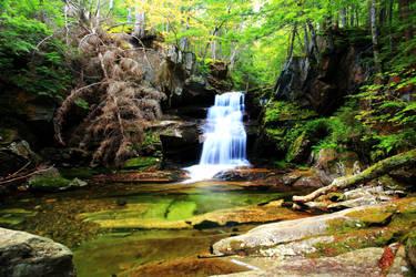 Cold Brook Falls by Celem
