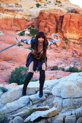Xena at Red Rocks National Conservation Area by Celem