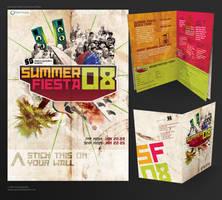 Summer Fiesta 08 flyer by AnnaBramble