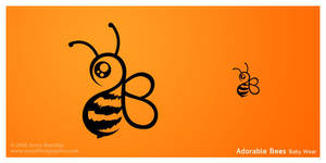 Adorable Bees Baby Wear Logo by AnnaBramble