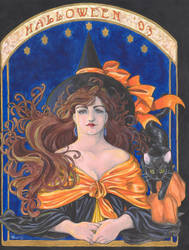 Halloween '03 Invitation by theLilDevil85