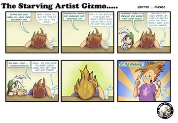The Starving Artist Gizmo: C5  86 by culdesackidz