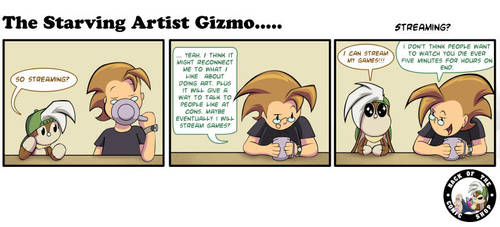 The Starving Artist Gizmo: C5  87 by culdesackidz