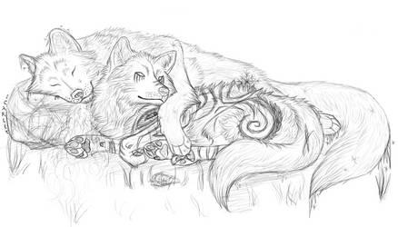 Wolves by Slithur