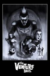 Venture bros movie poster by johndunn5