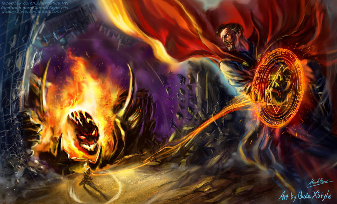 MARVEL 9: Dread Lord Dormammu by LadySionis on DeviantArt