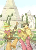 RO Bard Song Quest by tsubibo