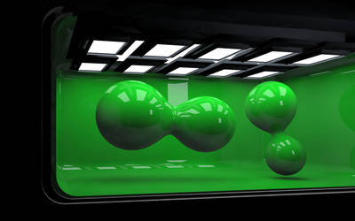 Green Balls by luismi812