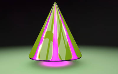 Pink Pyramid by luismi812