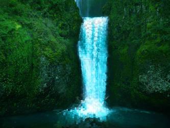 Blue Waterfall by luismi812