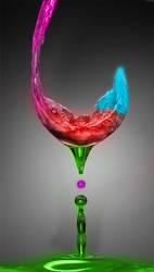 Neon Wine by luismi812