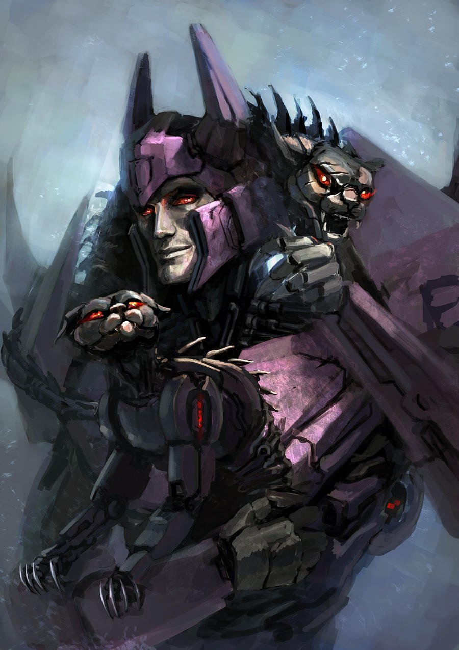 Everybody loves cats (Cyclonus is not exception) by Naihaan