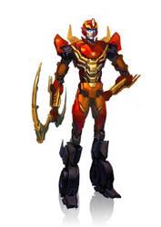 KTE: Rodimus Prime by Naihaan