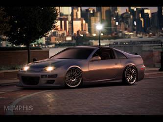 Nissan 300ZX by memphisdesign