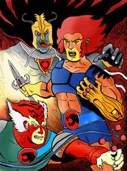 Thundercats Ho! by LucHerbots