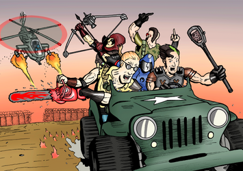Zartan and the Dreadnoks by LucHerbots
