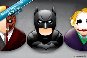 Batman Dark Knight Sigma Style by Iconshock