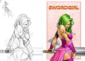 SwordGirl by Lord-Dragon-Phoenix