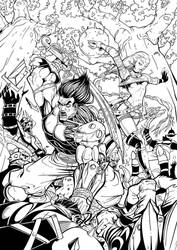 Warrior and Magi by Lord-Dragon-Phoenix