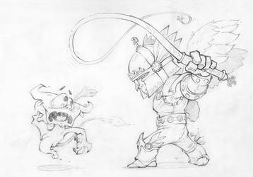 Good vs Evil by Lord-Dragon-Phoenix