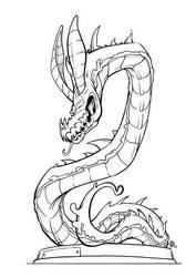 Dragon Statue by Lord-Dragon-Phoenix