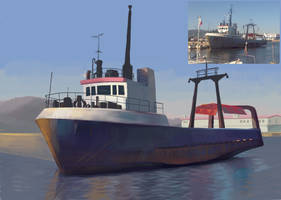 Boat WIP by Lord-Dragon-Phoenix