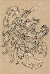 Rat-Scorpion mutant warrior. by Lord-Dragon-Phoenix