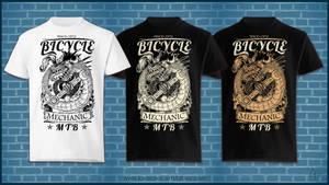 Project: Mechanic - T-shirt by Lord-Dragon-Phoenix
