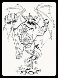 Dragon_Hammer by Lord-Dragon-Phoenix