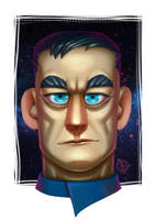 Star Trek Discovery - Captain Lorca by Lord-Dragon-Phoenix