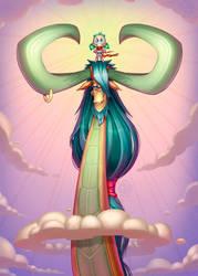 Dragon rider Kelly! by Lord-Dragon-Phoenix