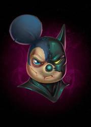 Batmouse by Lord-Dragon-Phoenix